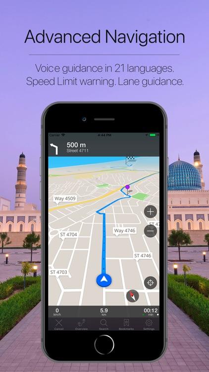 Oman Offline Navigation screenshot-3