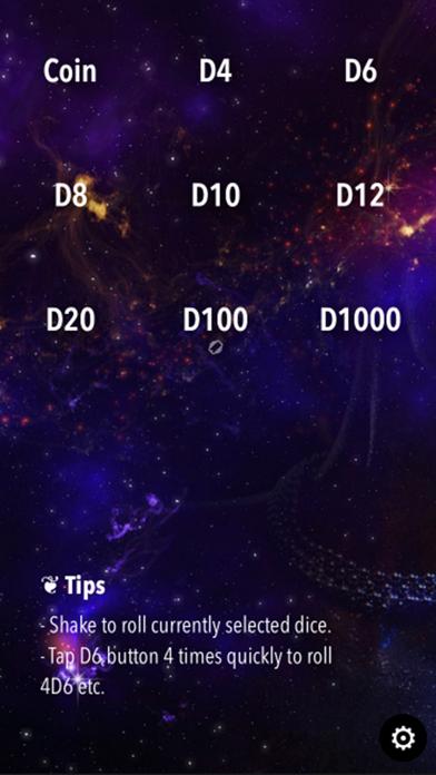 RPG Dice Roller Lite screenshot four