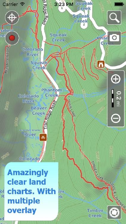 Rocky Mountain Hiking Trails screenshot-0