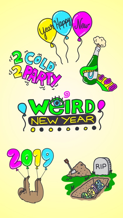 Weird New Year 2019