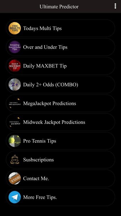 Ultimate Predictor by Brian Warugu