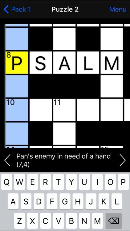 Cryptic Crossword screenshot-3