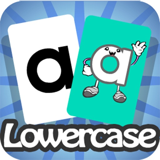 Meet the Letters Flashcards – Lowercase iOS App