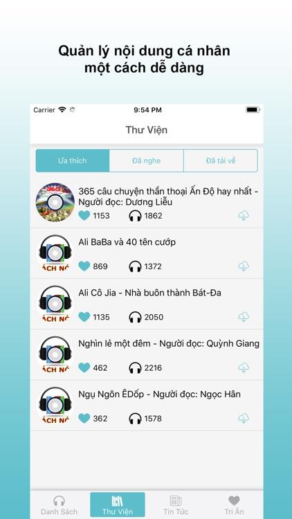 Thư Viện Sách Nói Online screenshot-5