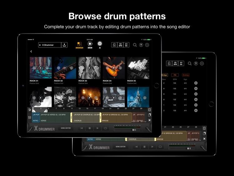 X Drummer