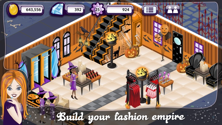 Fashion Design World Halloween screenshot-3