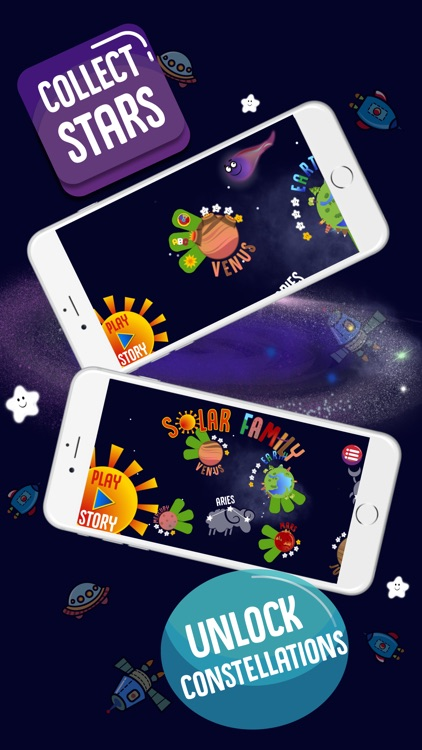 Solar Family: Planets for Kids screenshot-3