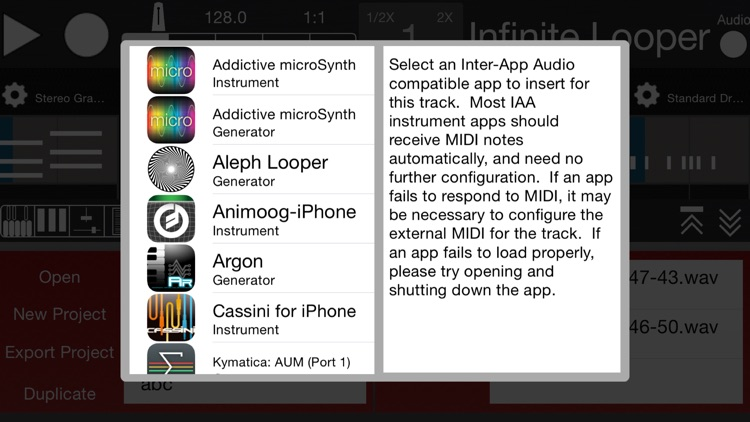 Aleph Looper screenshot-2