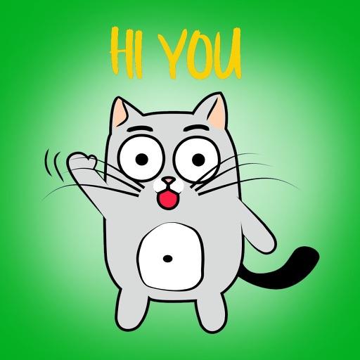 Cute Cats emoji for iMessage