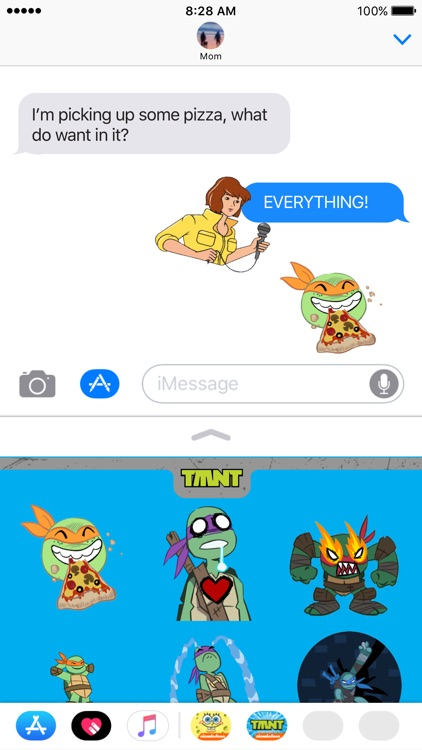 TMNT Stickers for iMessage screenshot-3