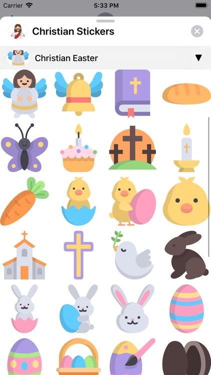 Christian Stickers App screenshot-8