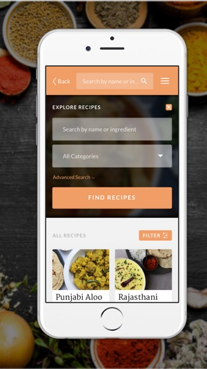 Maunikas indian recipes on the app store forumfinder Image collections