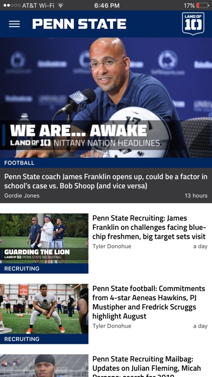 Landof10 - Big10 Football News screenshot-3