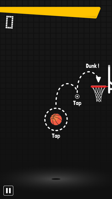 Dunkz - Basketball game screenshot 1
