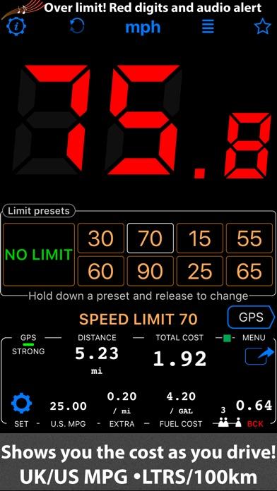 Speedometer 55 Pro. GPS kit. app image