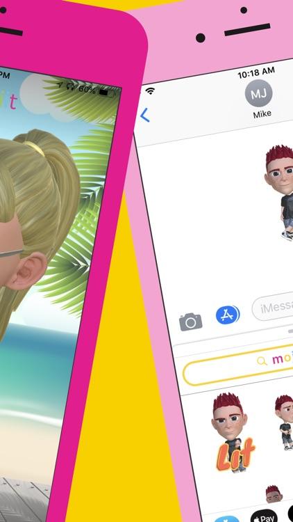 Mojiit: Custom Emoji GIF screenshot-4