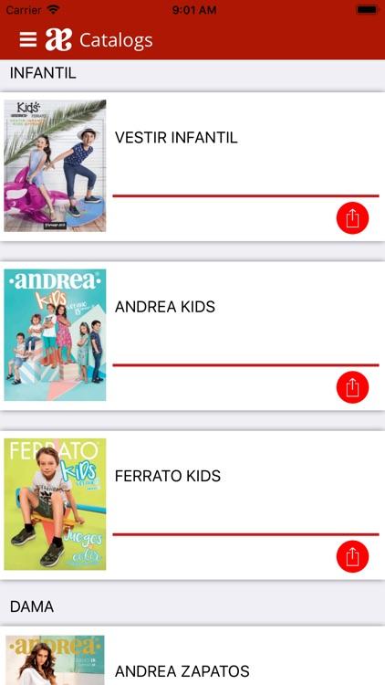 Andrea Mobile screenshot-4