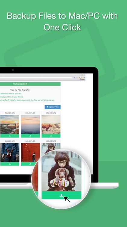 Swift Photo+ File Transfer App screenshot-3