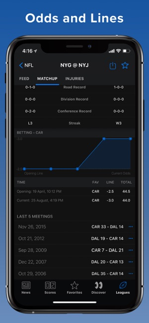 theScore: Sports News & Scores Screenshot