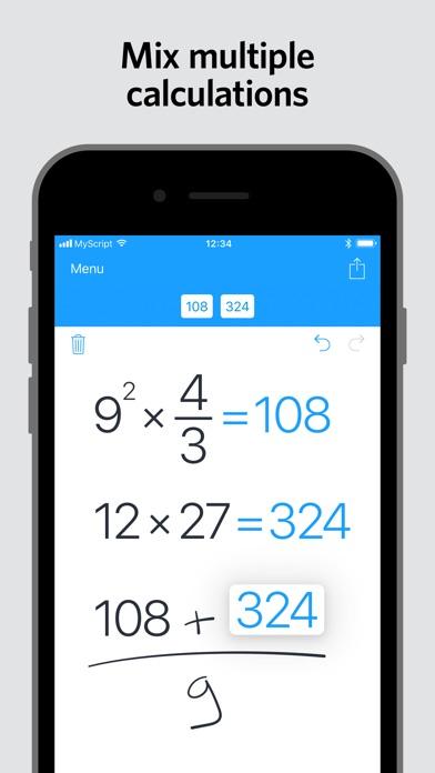 MyScript Calculator screenshot 4