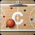 バスケットボールコーチのクリップボード icon