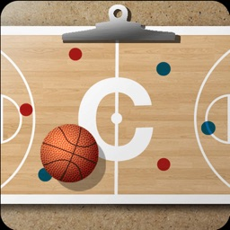 Basketball coach's clipboard