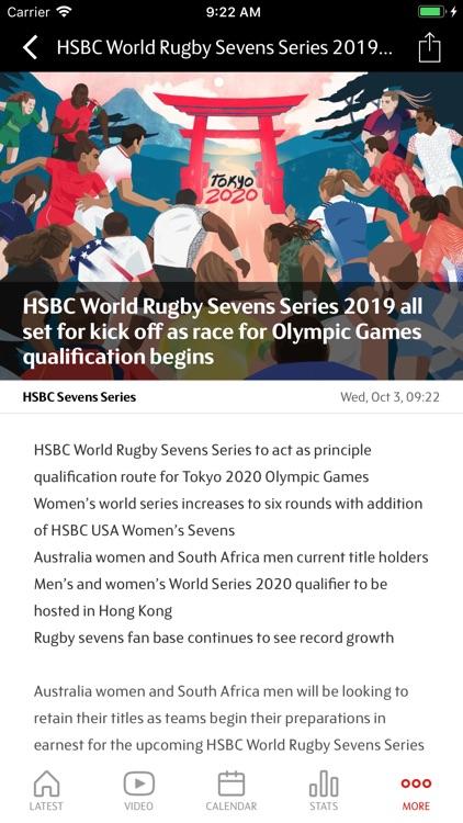 HSBC Sevens Series 2019 screenshot-4