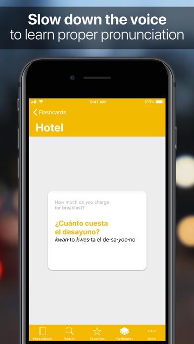 SpeakEasy Spanish Screenshot