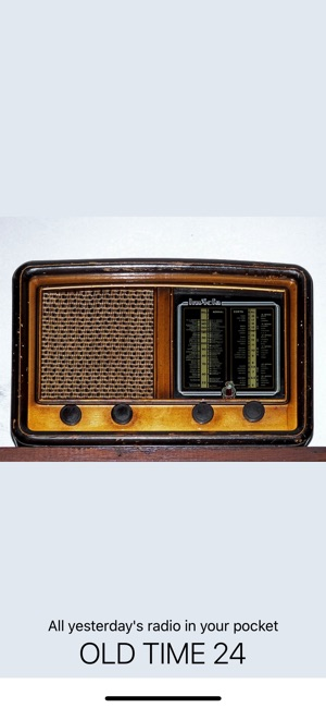 fbfbd6d894b3 Old Time Radio 24 on the App Store
