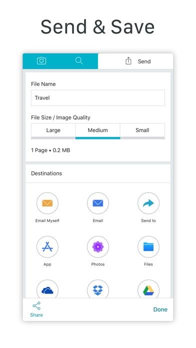 Scanner App 123 Screenshot