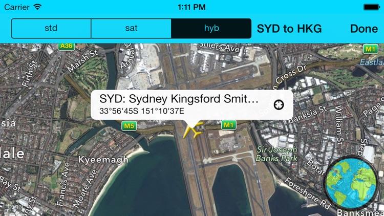 Airport Distance Lite screenshot-3
