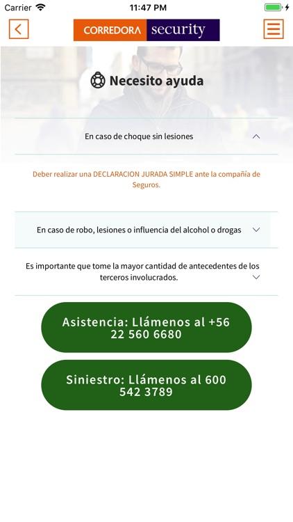 Corredora Security screenshot-6