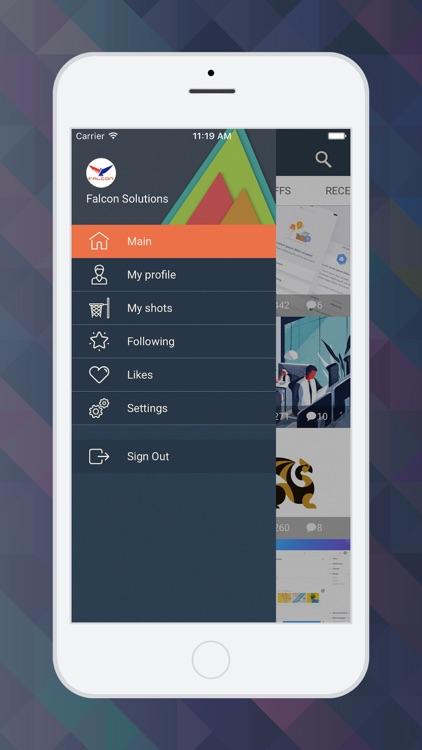 SlamDunk - Dribbble client screenshot-4