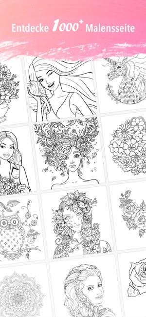 Becolor - Malbuch, Malvorlagen im App Store
