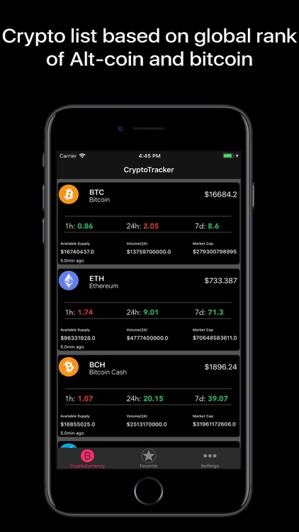 Crypto Tracker Pro screenshot-4