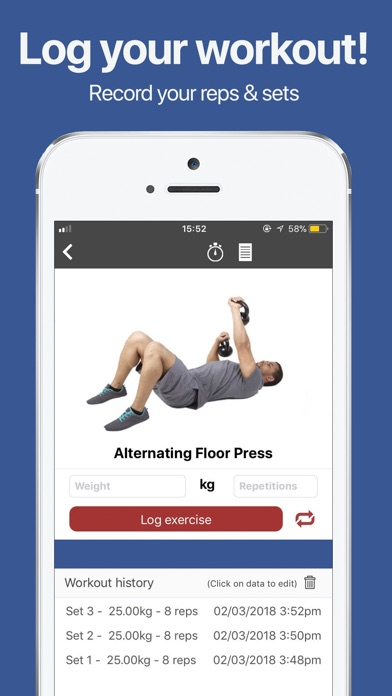 Gymster+ Pure Gym Bodybuilding Screenshots