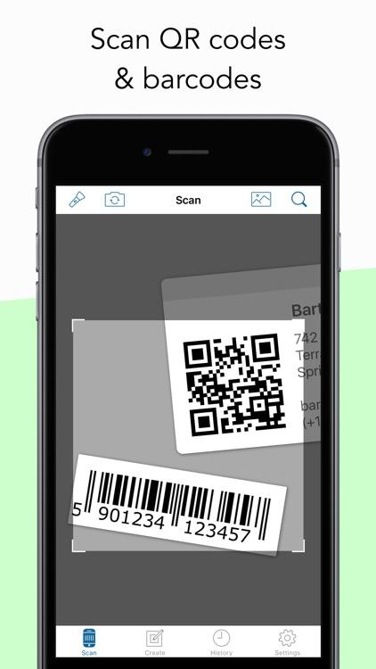 Barcode Scanner & QR Code Reader by qrbot.net