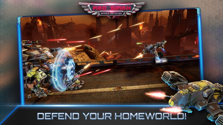 Red Siren: Space Defense screenshot-0