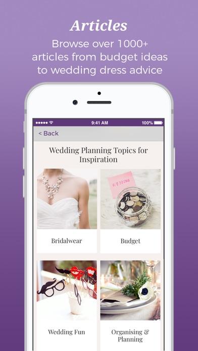 Hitched - Wedding Planner screenshot 4