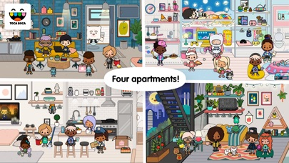 Screenshot for Toca Life: Neighborhood in Kuwait App Store