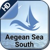 Aegean Sea South Boating Chart