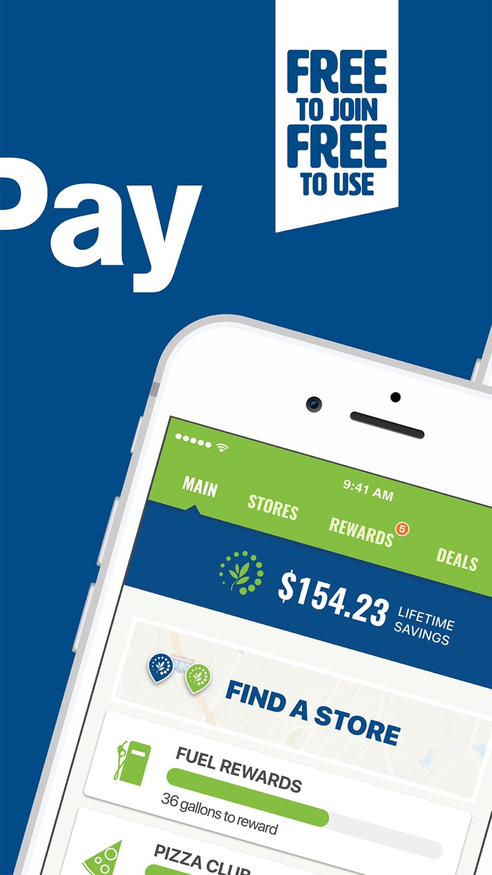 Cumberland Farms SmartPay Screenshot