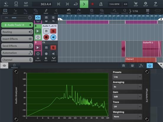 Analyser & Tuner AUv3 Plugin screenshot 11
