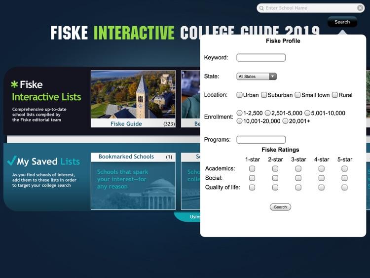 Fiske College Guide 2019