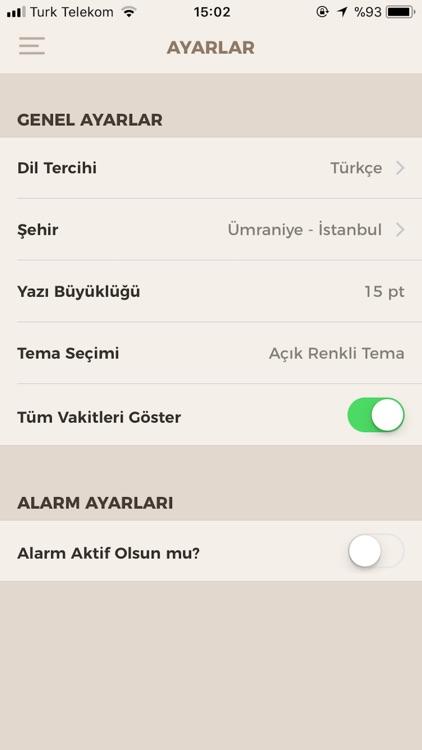Fazilet Takvimi Pro screenshot-4