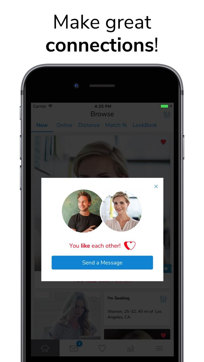 Christian Mingle - Dating App Screenshot