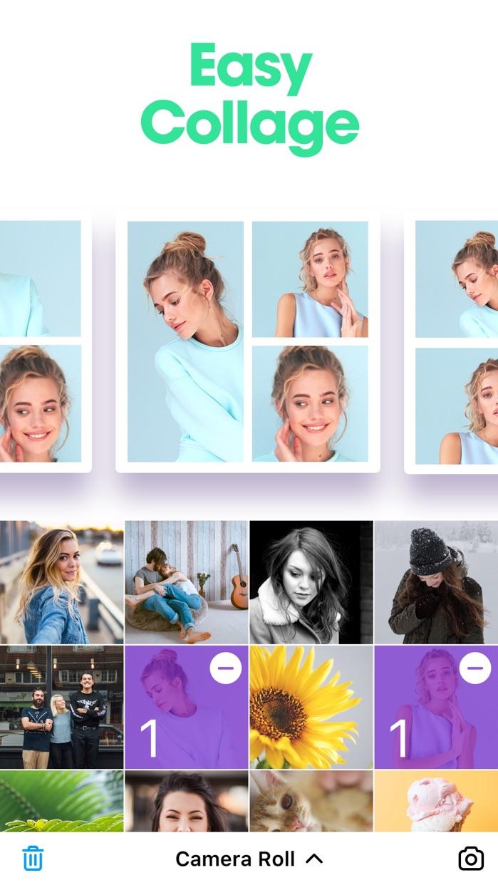 POTO - Photo Frames & Collage Screenshot