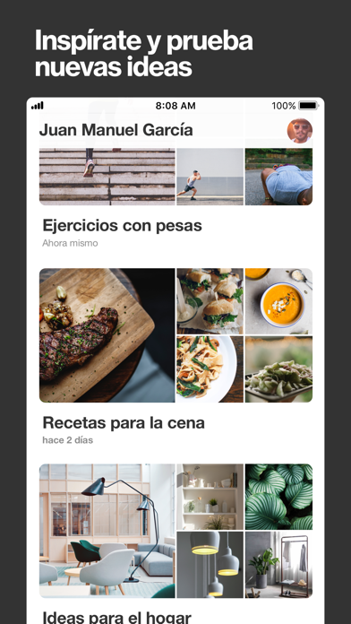 Screenshot for Pinterest in Dominican Republic App Store