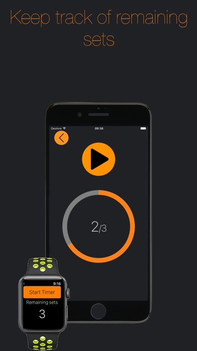 Gym Timer-Timer for rest time screenshot two