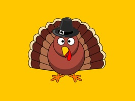 Thanksgiving Turkey Stickers